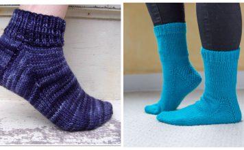 Easy Sock Free Knitting Patterns