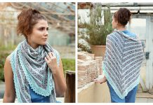 Eucalyptus Lace Shawl Free Knitting Pattern