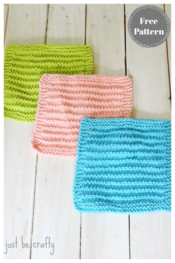 Modèle de tricot gratuit de torchons de cuisine de ferme