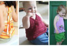 Girls Halter Top Free Knitting Pattern