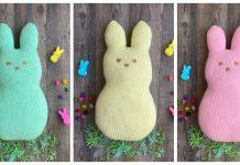 Marshmallow Easter Bunny Free Knitting Pattern