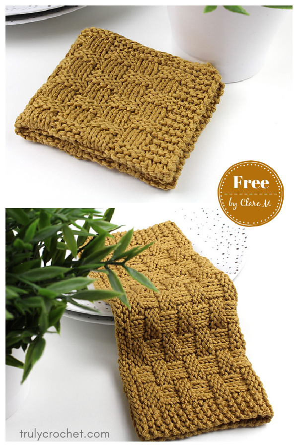 Midwest Dishcloth Free Knitting Pattern