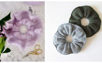 Scrunchie Free Knitting Patterns