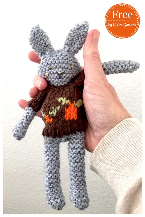 Spring Bunny Free Knitting Pattern