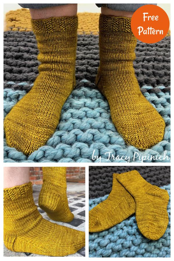 Stix Sox Sock Free Knitting Pattern