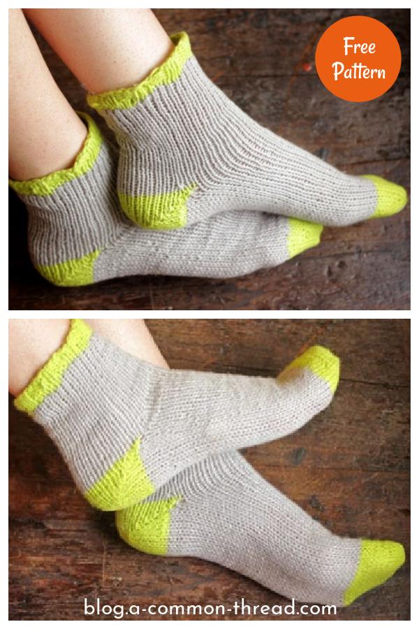 Summer Socks Free Knitting Pattern