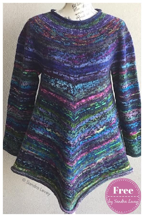 Baw Baw Stash Buster Sweater Free Knitting Pattern