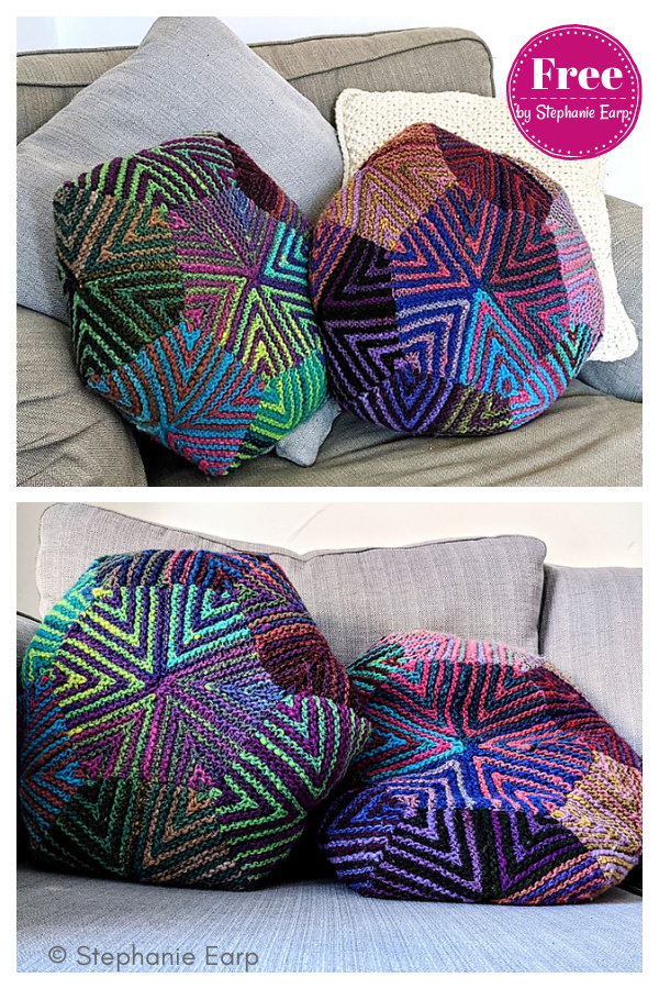 Bex Pillow Free Knitting Pattern