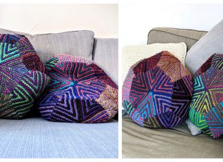 Bex Pillow Free Knitting Pattern
