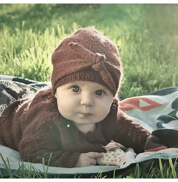 Cinnamon Knot Baby Hat Free Knitting Pattern