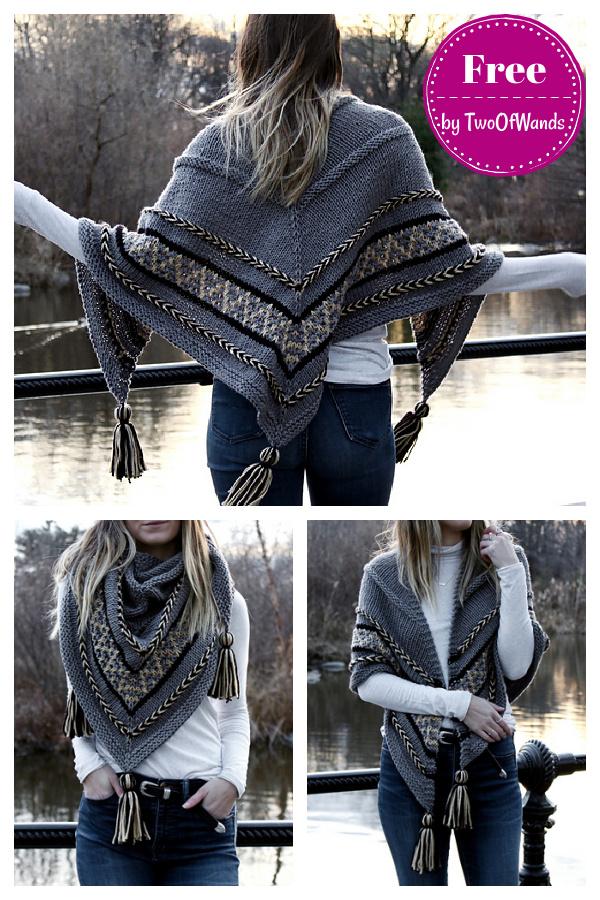 Hearthstone Shawl Free Knitting Pattern