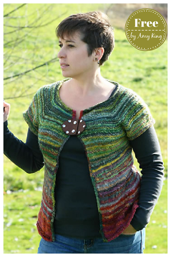 Less is More Cardigan Sweater Free Knitting Pattern