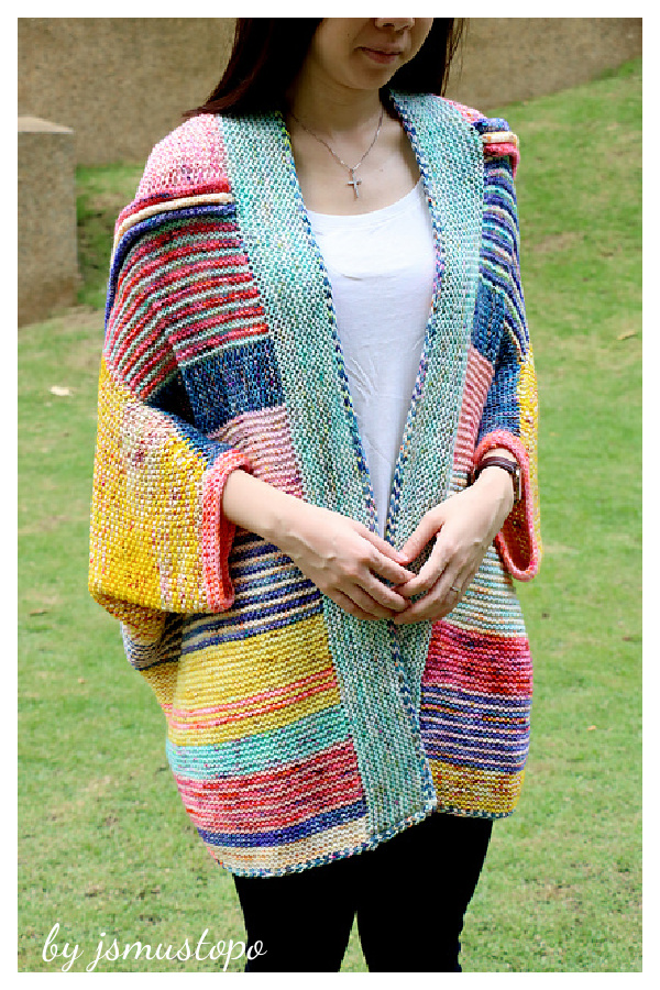 Penguono Stash Buster Sweater Knitting Pattern
