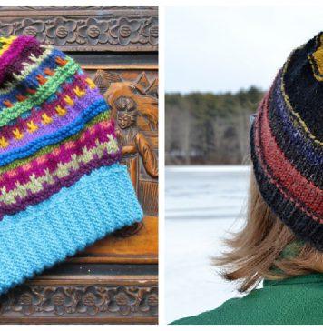 Scrap Buster Hat Knitting Patterns