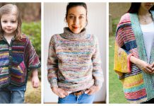 Stash Buster Sweater Knitting Patterns