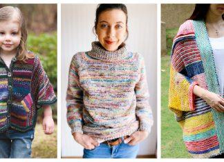 Stash Buster Sweater Knitting Patterns