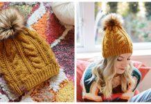 The Prudy Beanie Free Knitting Pattern