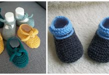 Baby Shoes Free Knitting Pattern