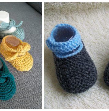 Baby Shoes Free Knitting Pattern