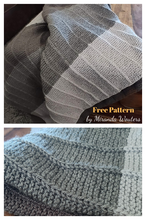 Bram's Blanket Free Knitting Pattern