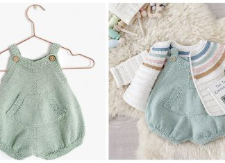 Pickles Romper Free Knitting Pattern
