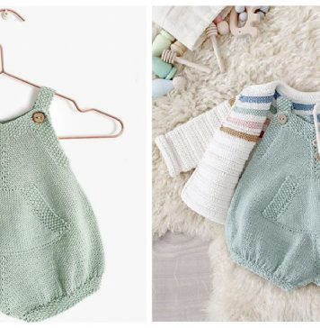 Pickles Romper Free Knitting Pattern