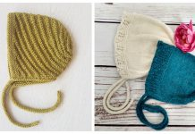 Baby Bonnet Free Knitting Patterns