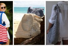 Beach Bag Free Knitting Pattern