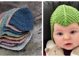 Campanula Baby Hat Free Knitting Pattern
