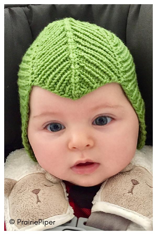 Campanula Baby Hat Patrón Tejido Gratis