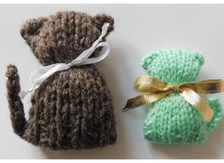Catty McCat Face Free Knitting Pattern