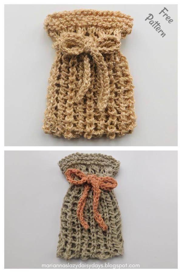 Cotton Soap Saver Free Knitting Pattern