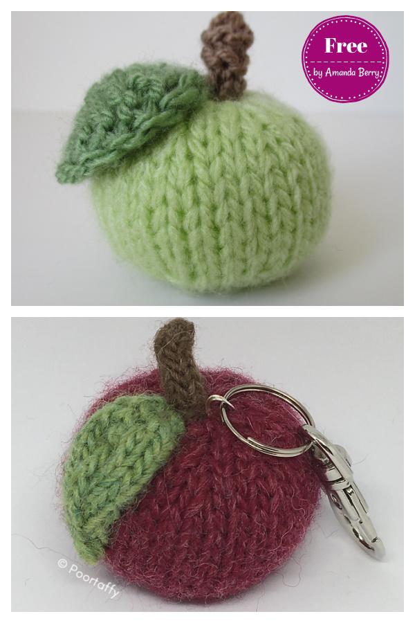 Little Apple Free Knitting PatternLittle Apple Free Knitting Pattern