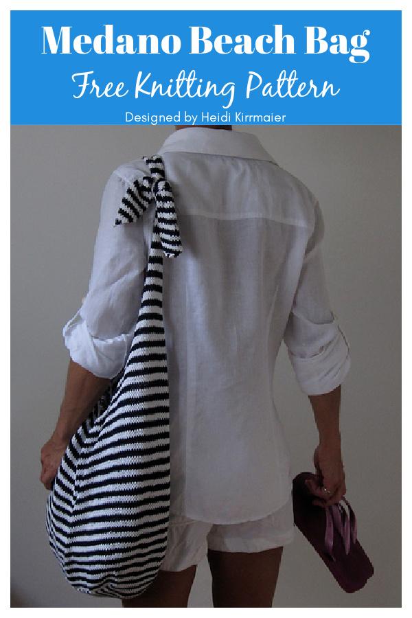 Medano Beach Bag Free Knitting Pattern