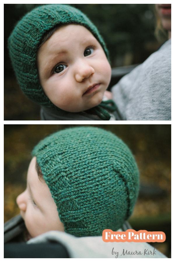 Meta's Bonnet Free Knitting Pattern