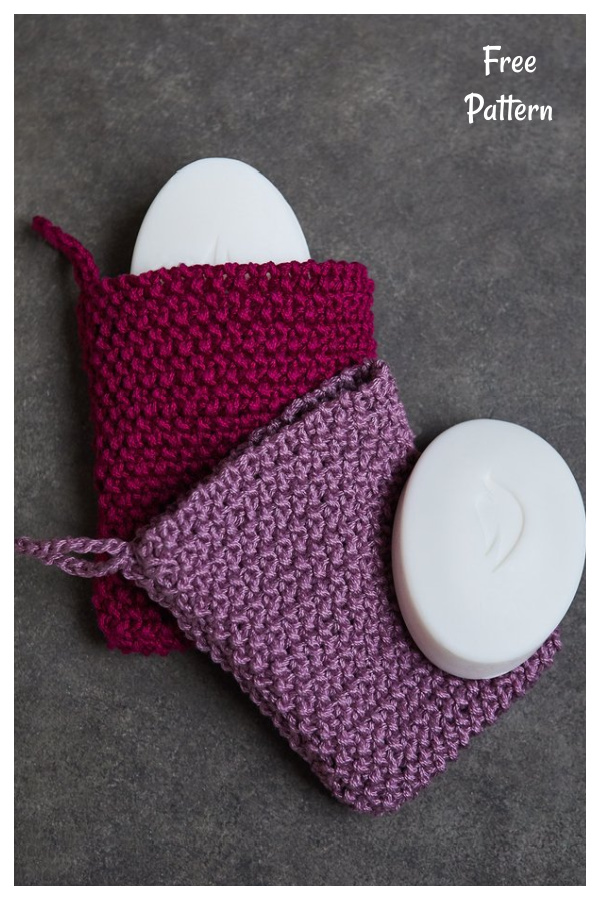 Soap Sack Free Knitting Pattern