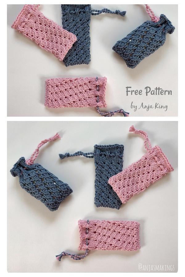 Soap Saver Lavender Free Knitting Pattern