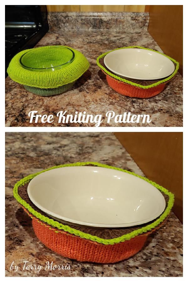 SoupR Bowl Cozy Free Knitting Pattern