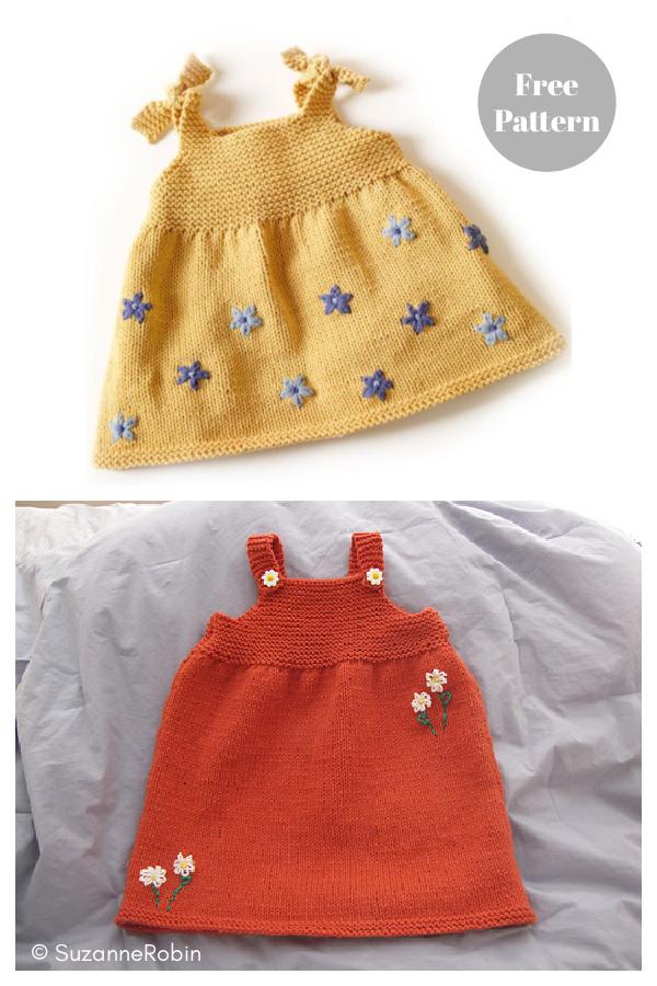 Childs Sun Top Free Knitting Pattern
