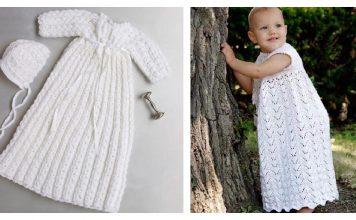 Christening Gown Free Knitting Pattern
