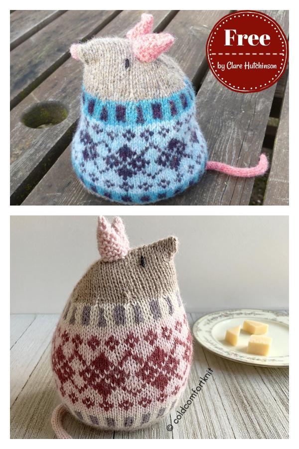 Harold Fatmus Mouse Free Knitting Pattern