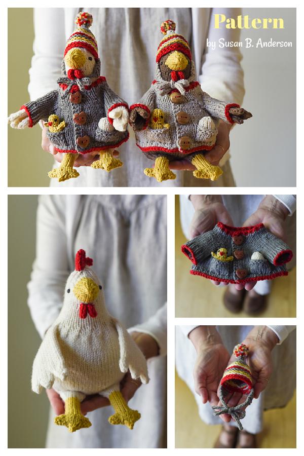 Mother Hen Knitting Pattern
