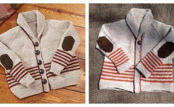 Professor Sweater Free Knitting Pattern