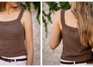 Simple Summer Tank Free Knitting Pattern