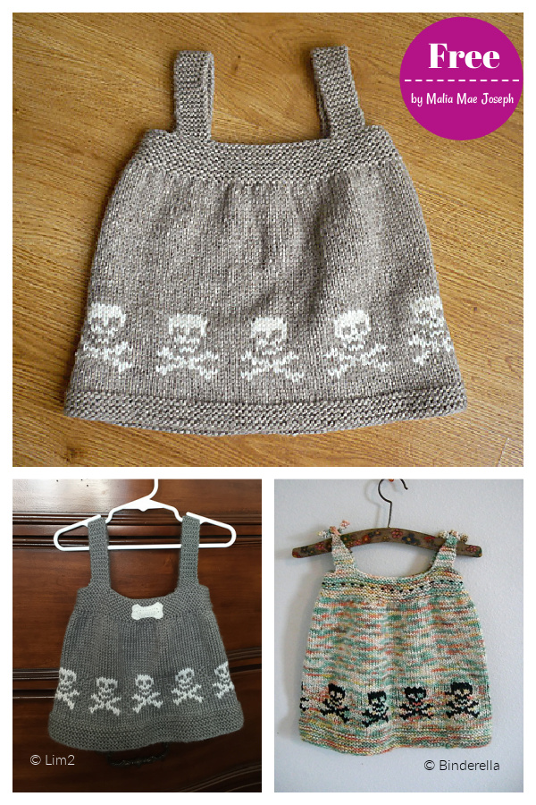 Skull Jumper Free Knitting Pattern