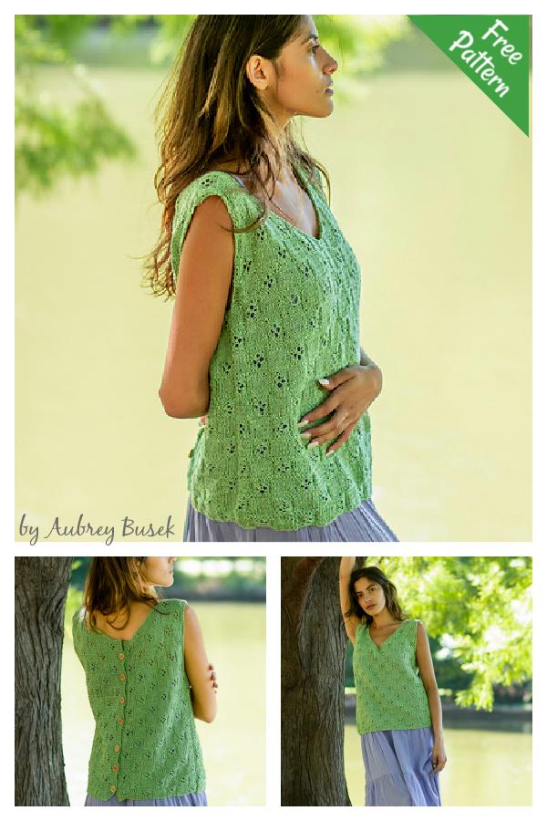 Homestead Tank Free Knitting Pattern