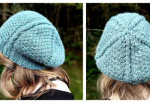 Moss and Vines Slouch Beanie Free Knitting Pattern