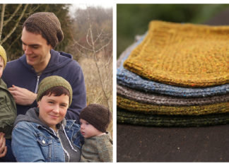 Barley Family Hat Free Knitting Pattern