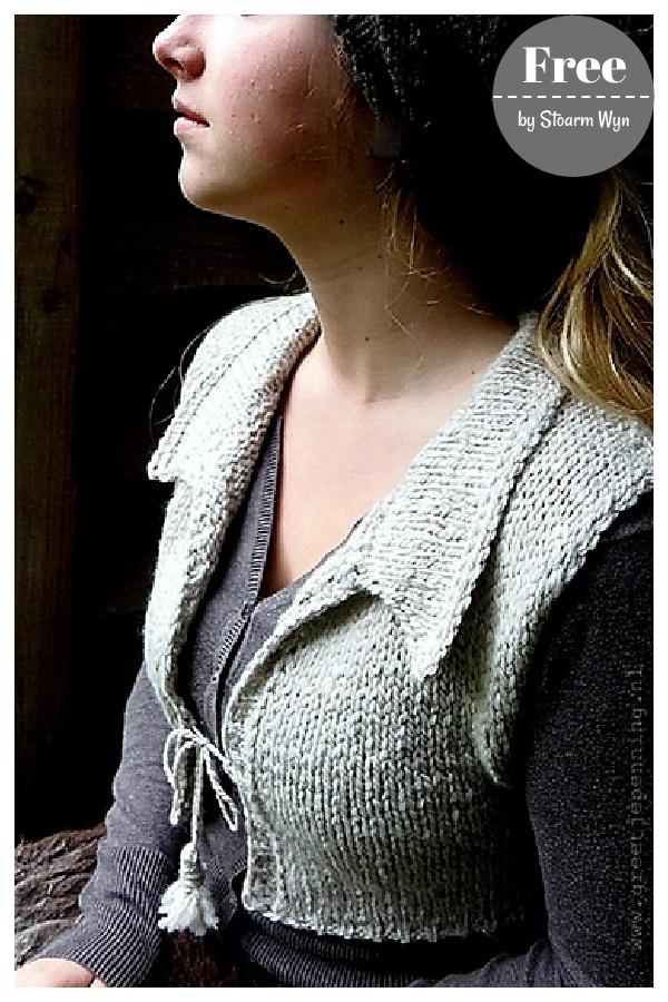 Bjirk Vest Free Knitting Pattern