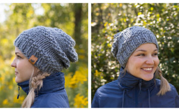 Chedoke Slouchy Hat Free Knitting Pattern